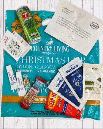CL's Christmas Fair gift bag
